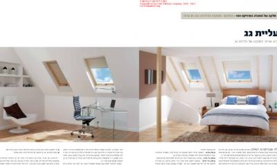 חלונות גג פרוייקט המאה של בניין ודיור