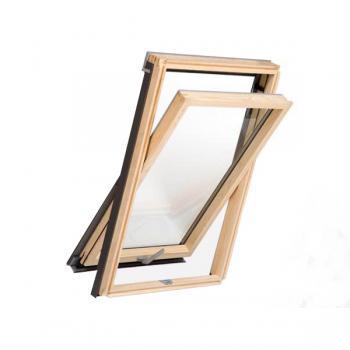 חלון ציר אמצעי עץ ROOFLITE