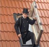 חלון גג ציר דלת