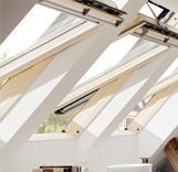 חלונות גג VELUX