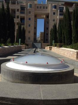 כיפה עגולה פרויקט 'כתר דוד' , ירושלים