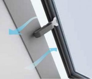 חלון גג ציר דלת VELUX GVT