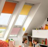 אביזרי הצללה לחלונות גג