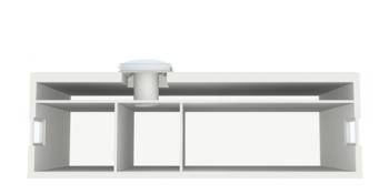 תעלות אור לגגות בטון שטוחים TCF ,TCR