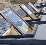 פרויקט יקנעם - 40 חלונות בהגבהה על הגג
