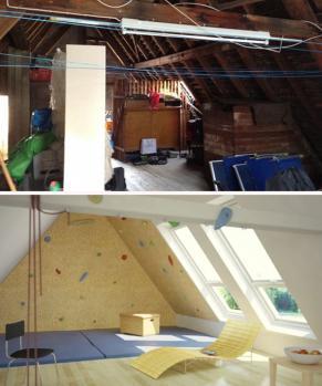 עליות גג לפני ואחרי