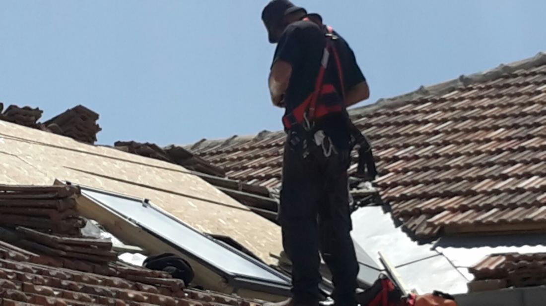 חלונות גג בפרויקט משטרת ישראל מחוז ירושלים