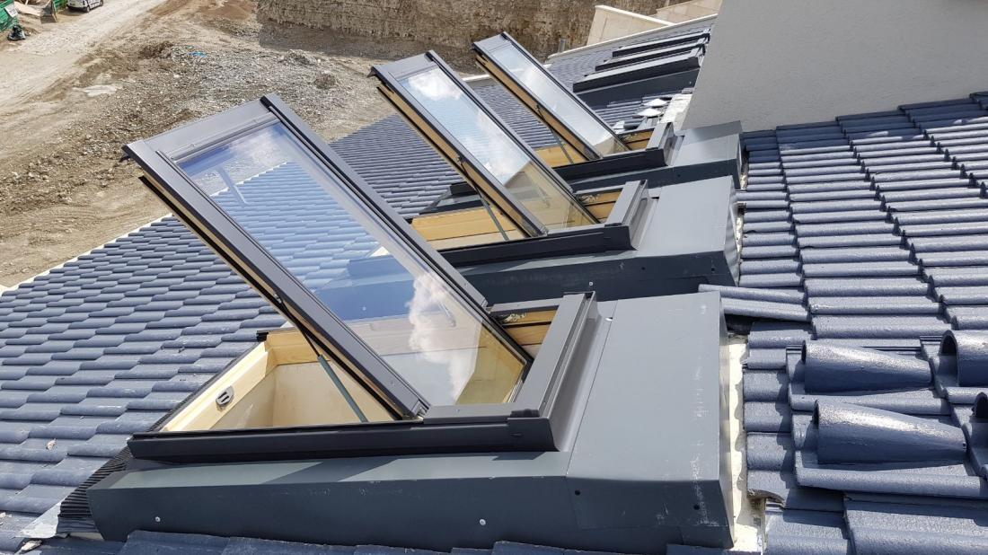 פרויקט יקנעם - 40 חלונות בהגבהה על הגג - גלריה